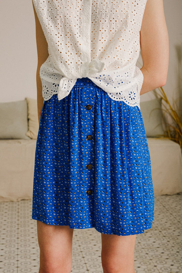 ARTHUR SKIRT - BLUE