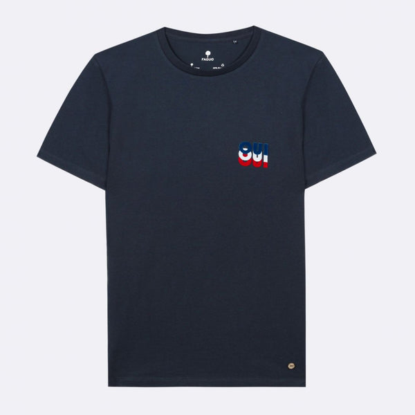 ARCY T-SHIRT RECYCLED COTTON - NAVY