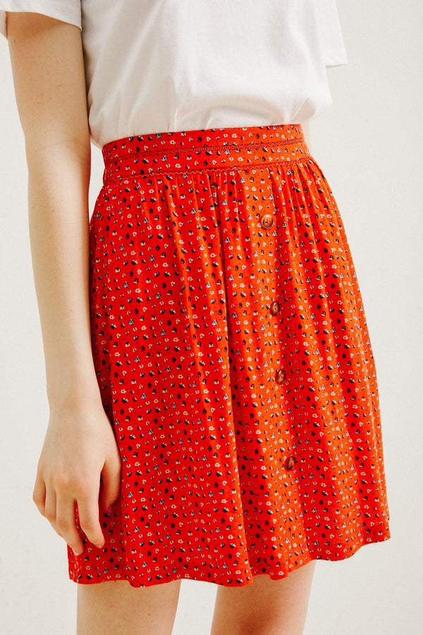 ARTHUR SKIRT - RED