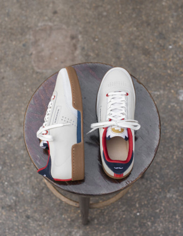 ANATOLE - NAVY/RED/ECRU