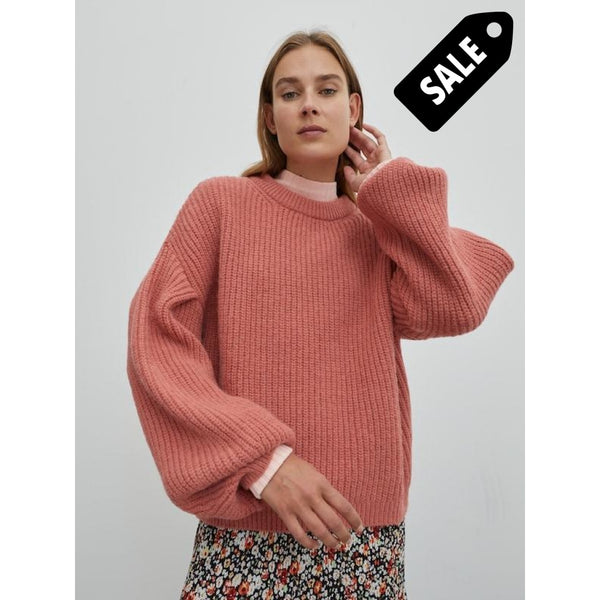 Beaneth Jumper - Dark Rose Knitwear