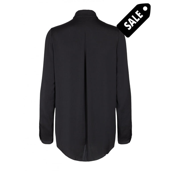 Blair Polysilk Shirt - Black