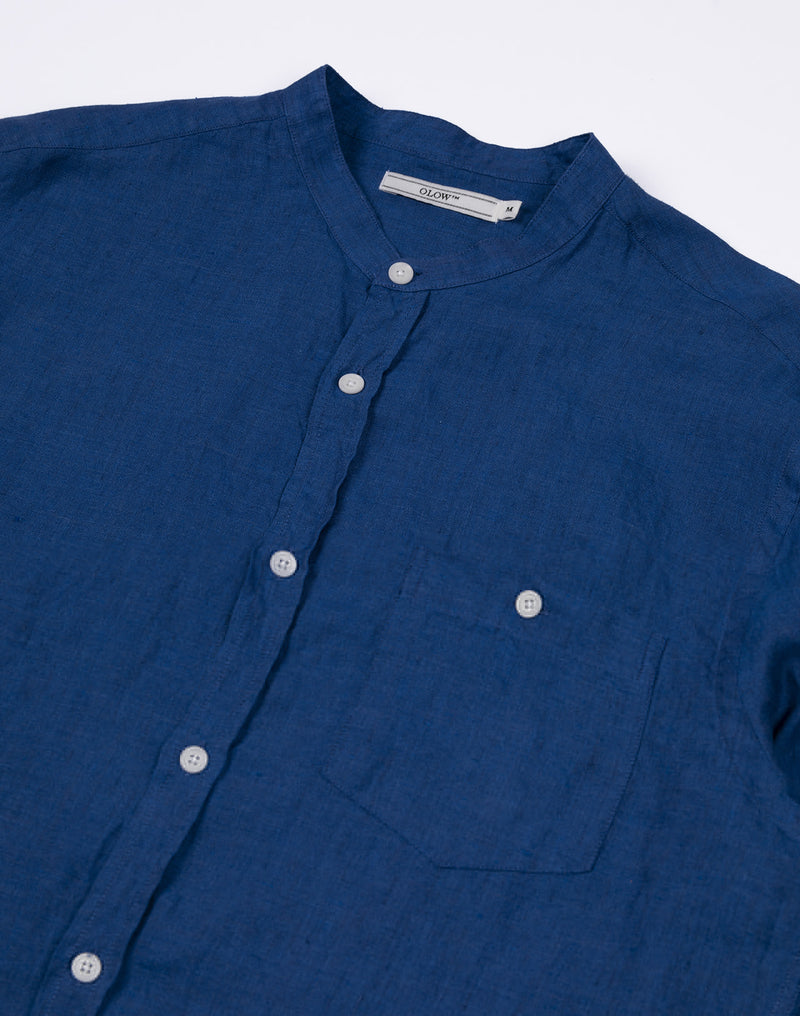 AZNA SHIRT  -  BLUE