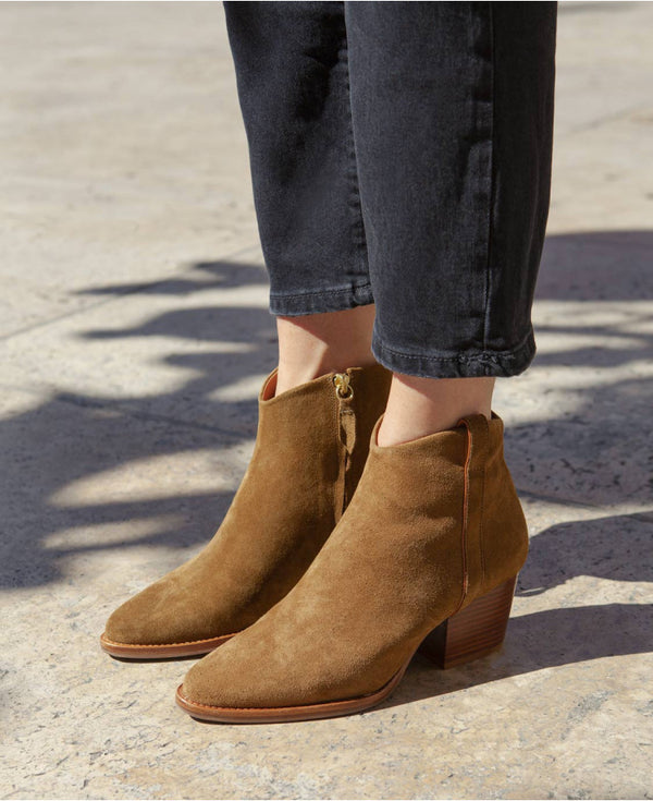 BOOTS N°704 - SUEDE ECORCE