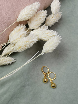 BIG BOULE  EARING   - GOLD