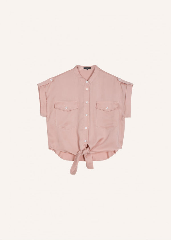CELENE SHIRT - QUARTZ ROSE