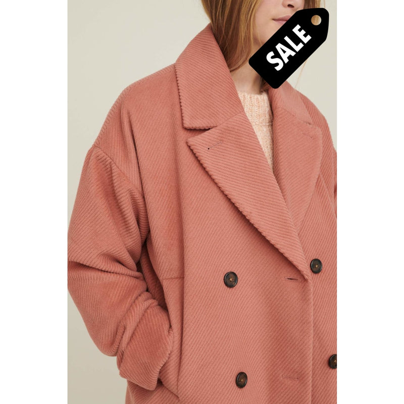 Cleo Coat Solide - Muted Clay Jacket