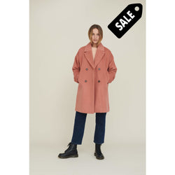 Cleo Coat Solide - Muted Clay Xs Jacket