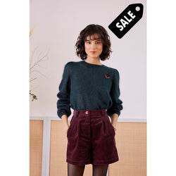 Delisa Knit - Forest Green
