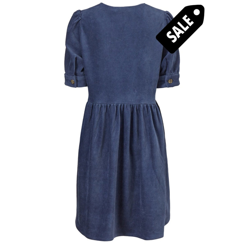 Freya Dress - Vintage Blue