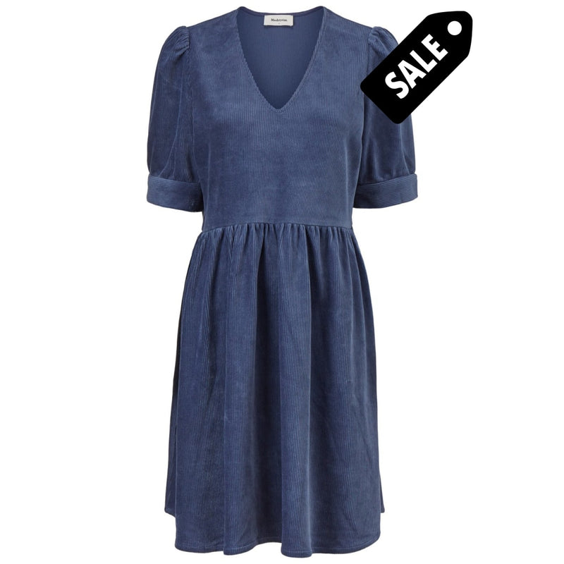 Freya Dress - Vintage Blue Xs