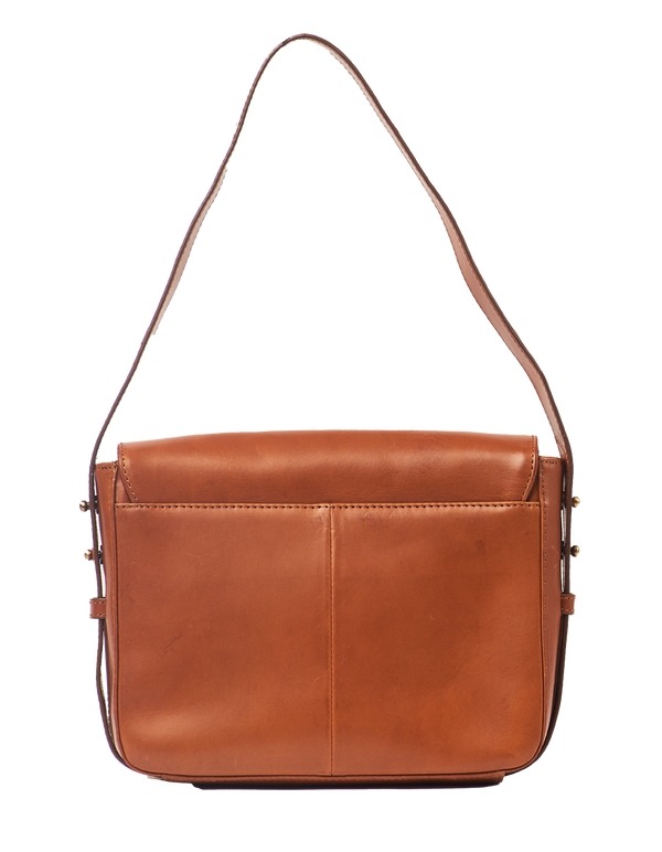 GINA BAG - COGNAC