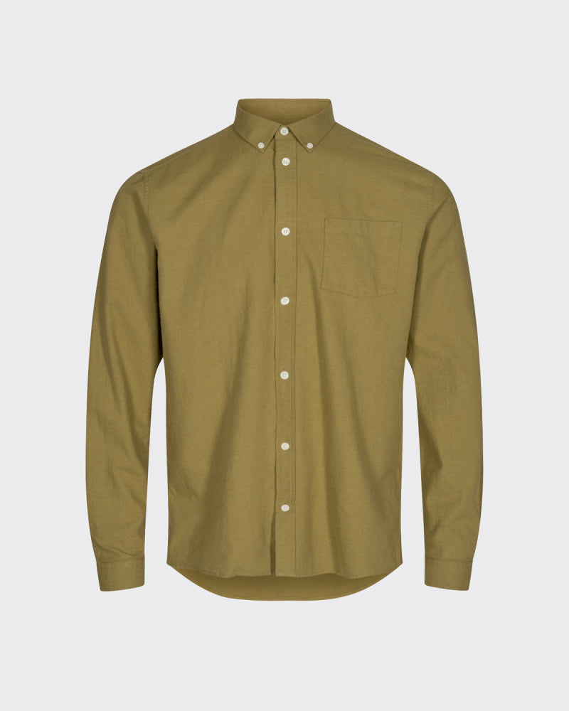 JAY 2.0. SHIRT - DRIED TOBACCO