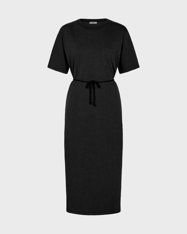 PHILINE-MIDI DRESS-BLACK
