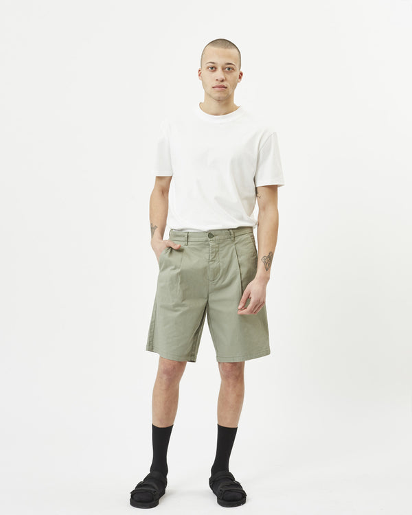 ORAN SHORT - SARGASO SEA/LIGHT GREEN