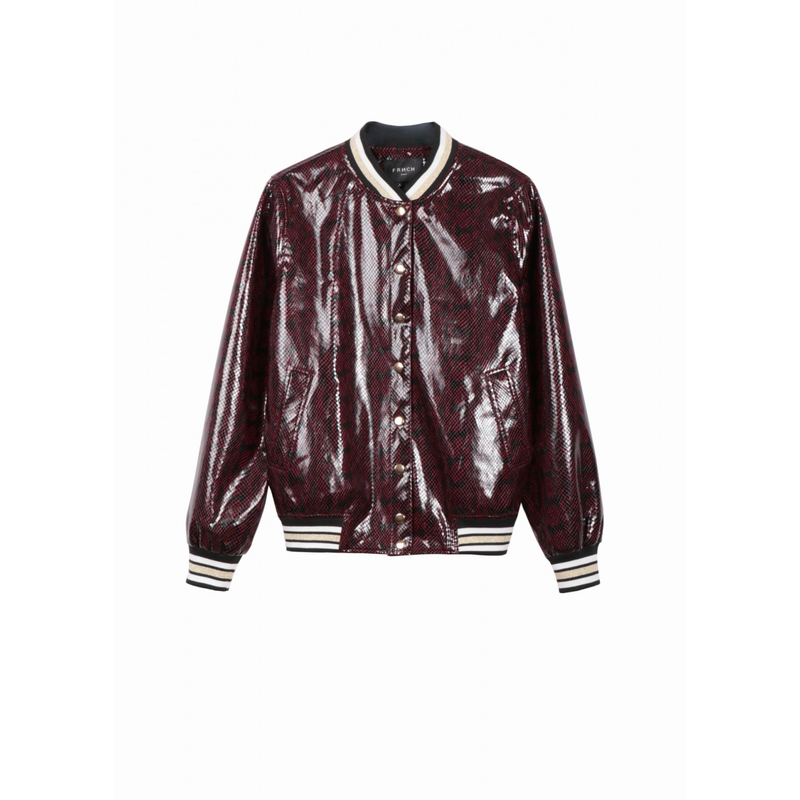LAURY JACKET - BORDEAUX