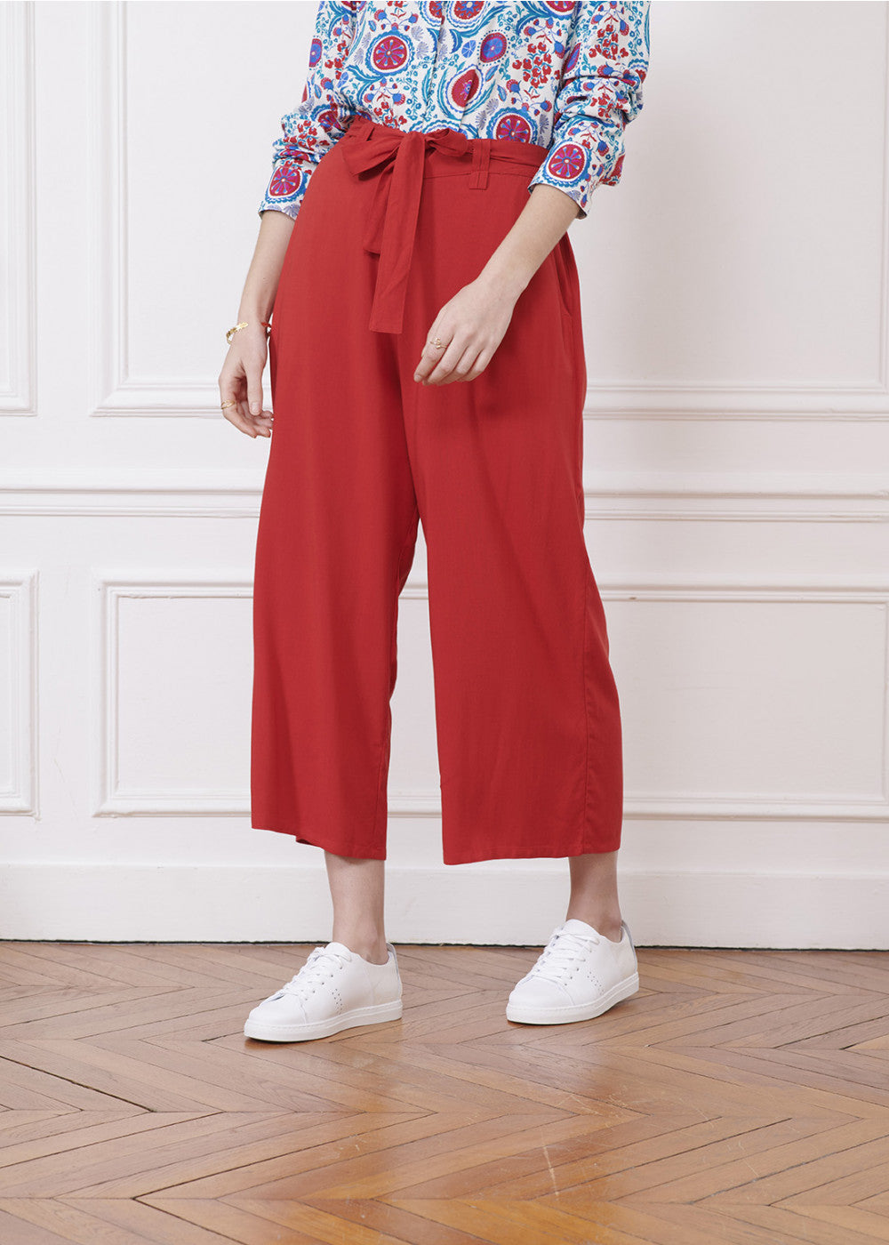 SANDRO PANT - RED