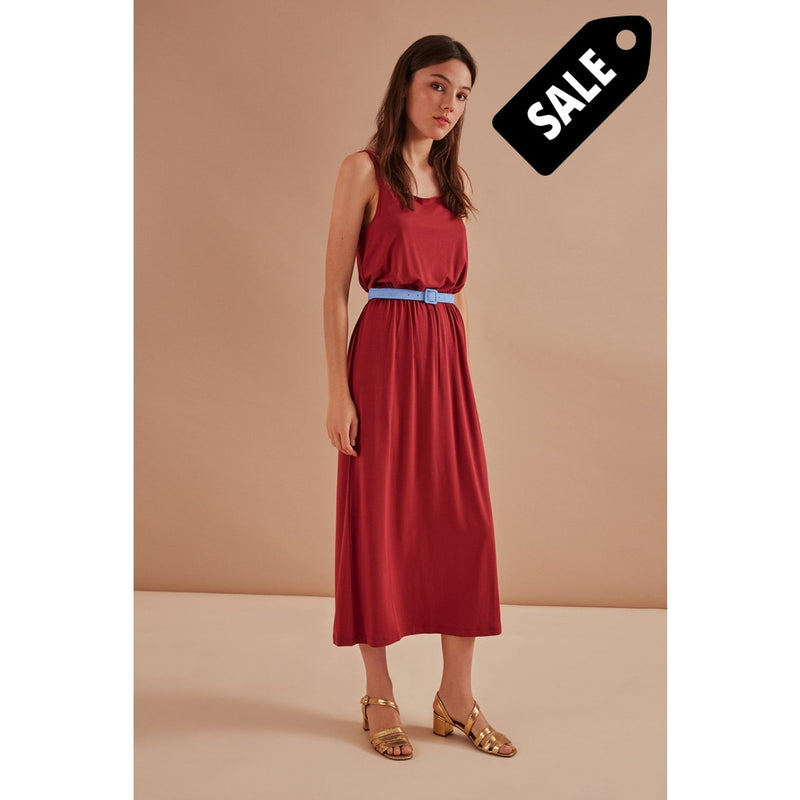 Jalouette Dress - Red