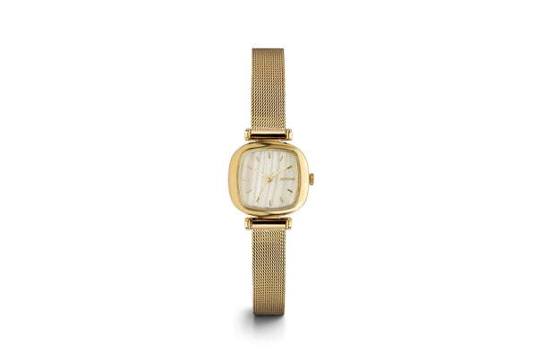 MONEYPENNY ROYALE WATCH - GOLD WHITE