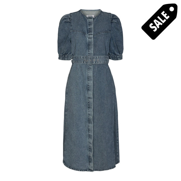 Lola Denim Dress - Wash Soho 34