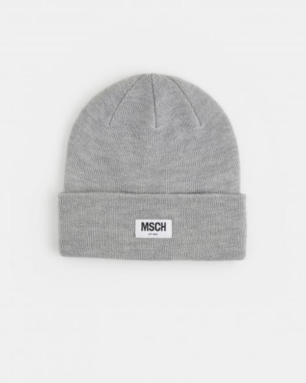 MOJO BEANIE - LIGHT GREY MELANGE