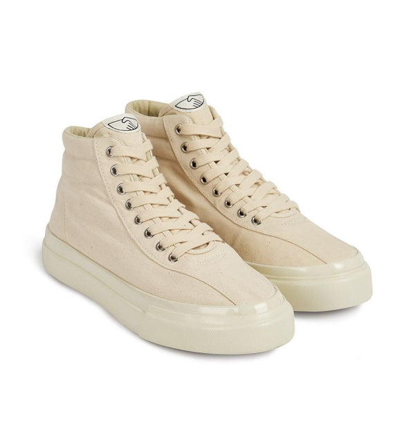 VARDEN M CANVAS SNEAKERS - ECRU