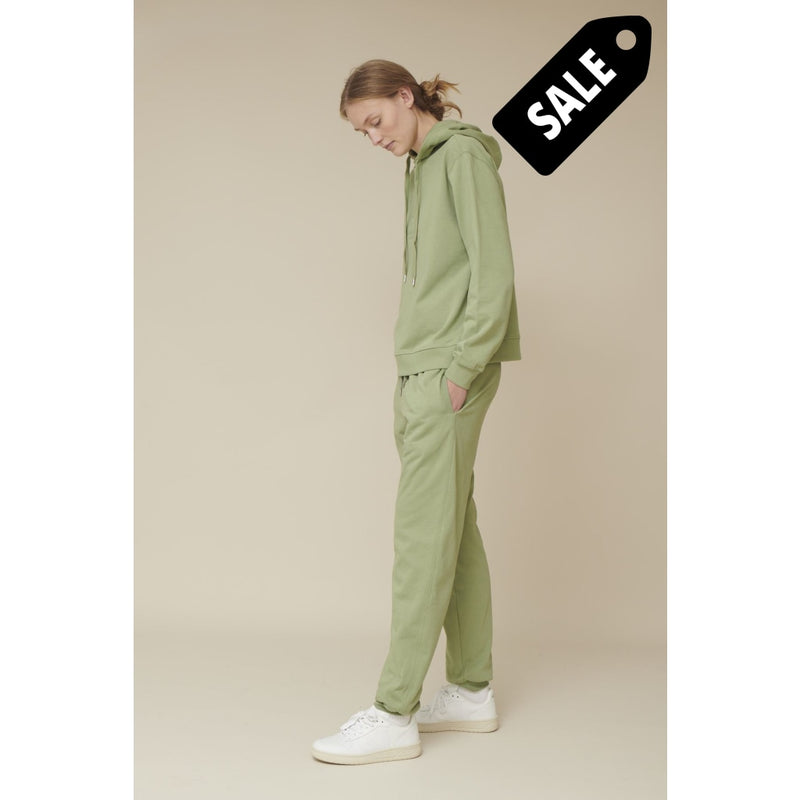 Maje Sweatpants Organic - Oil Green Pant