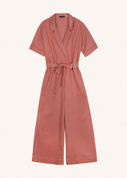 MANOLA JUMPSUIT - BRIQUE