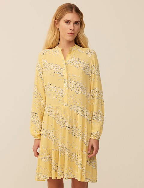 MARRANIE DRESS - YELLOW PRINT