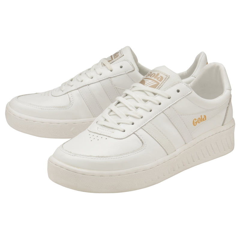 GRANDSLAM LEATHER MEN - WHITE/WHITE/WHITE