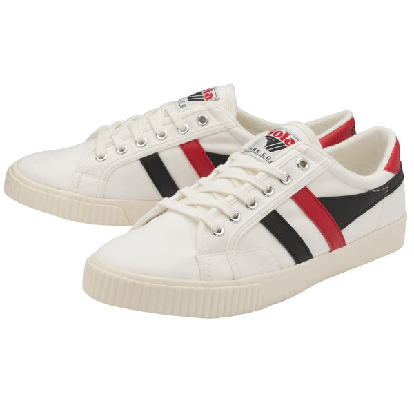 TENNIS MARK COX - OFF WHITE/BLACK/RED