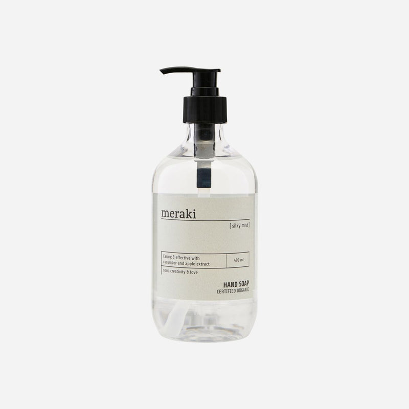 MERAKI HAND SOAP - SILKY MIST - 490ml