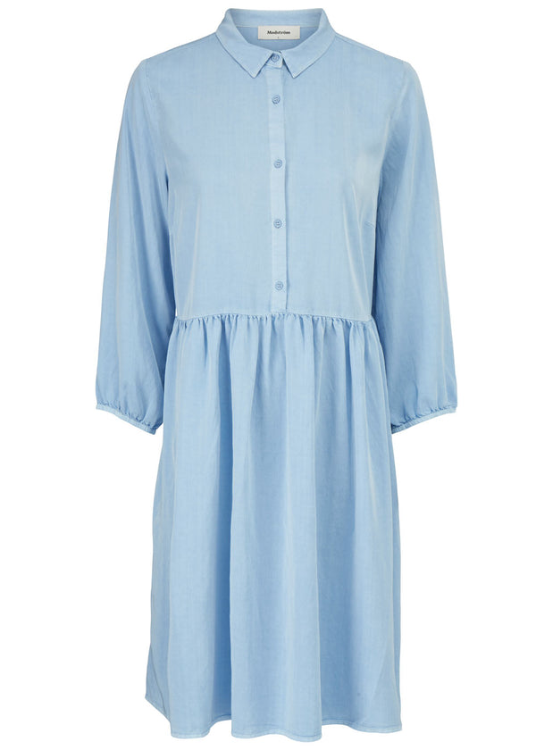 IRWIN DRESS - CHAMBRAY BLUE