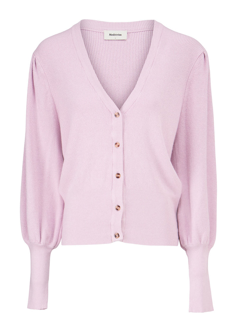 IZZY CARDIGAN - HEATHER