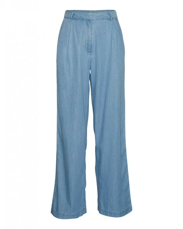FLIKKA JAINA PANTS -  LIGHT BLUE WASH