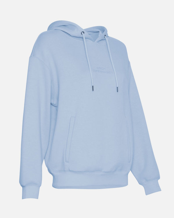 IMA DS LOGO HOOD SWEAT - BLUE