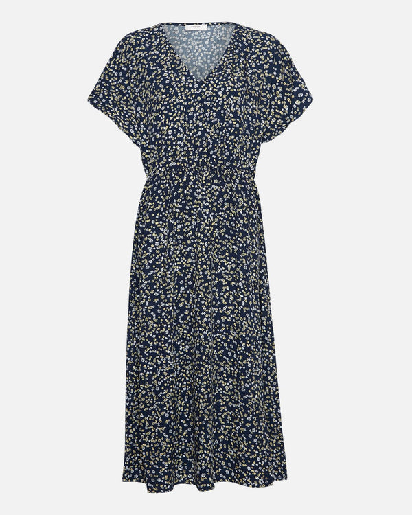 KARNA BEACH DRESS - CAPTAIN FLOWER NAVY