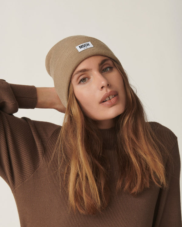 MOJO BEANIE - TRAVERTINE