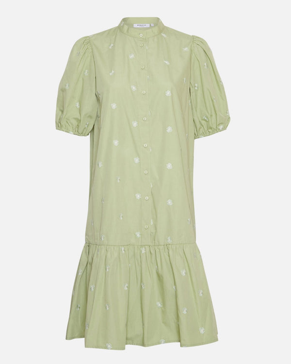 NONA SHIRT DRESS - RESEDA