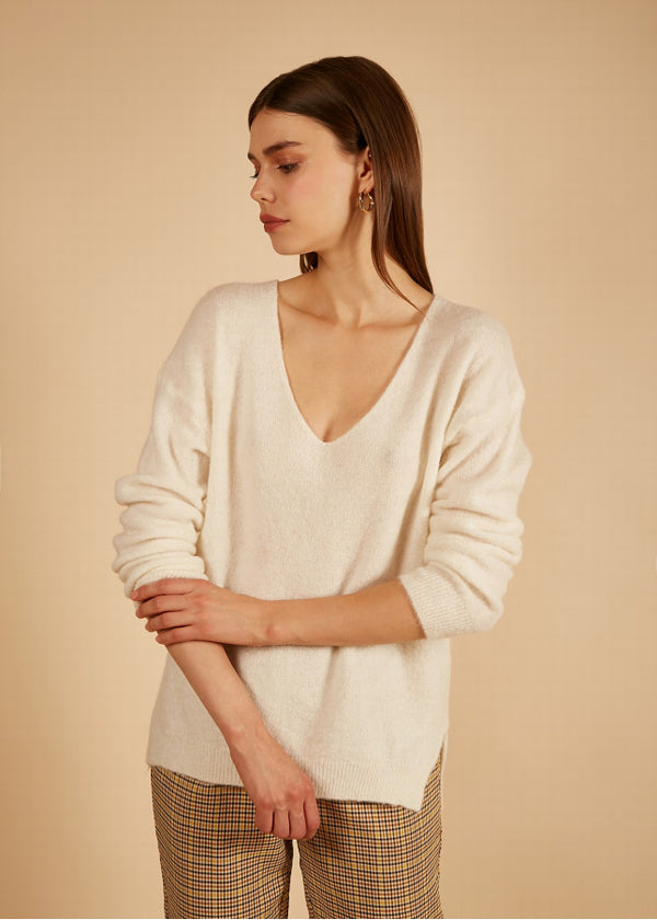 NAGUETTE ECRU  - KNIT   - FRNCH