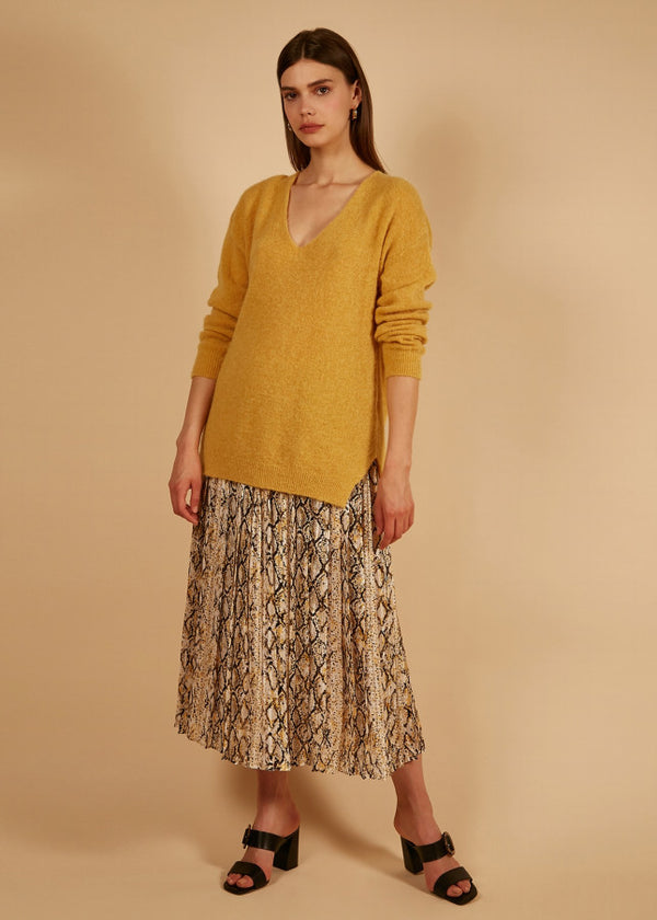 NAGUETTE YELLOW - KNIT   - FRNCH