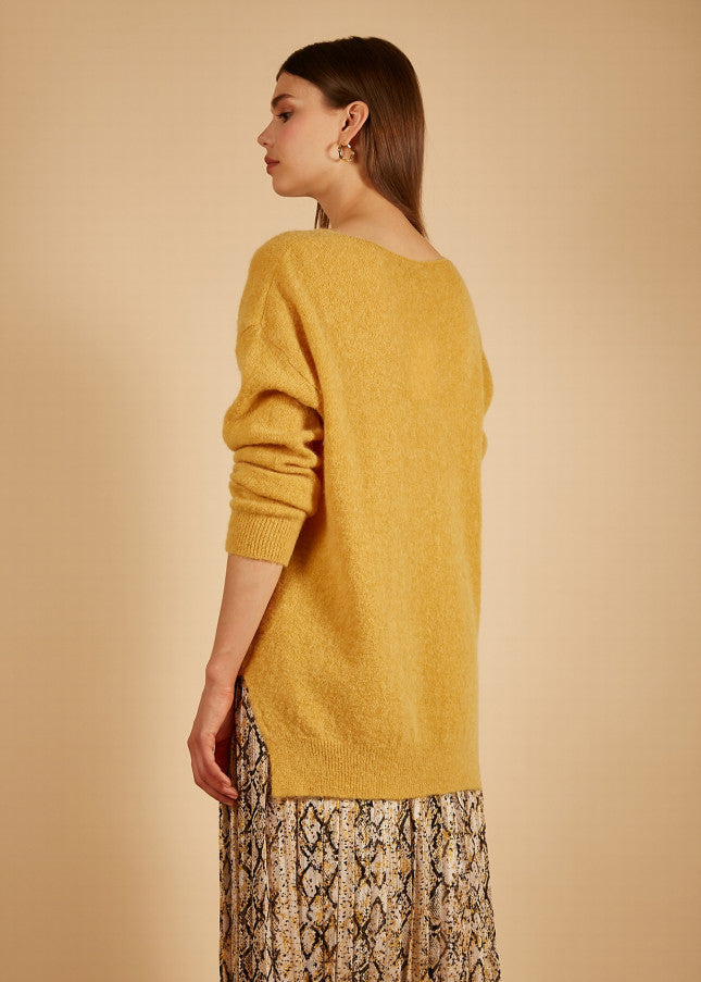NAGUETTE KNIT - YELLOW - FRNCH
