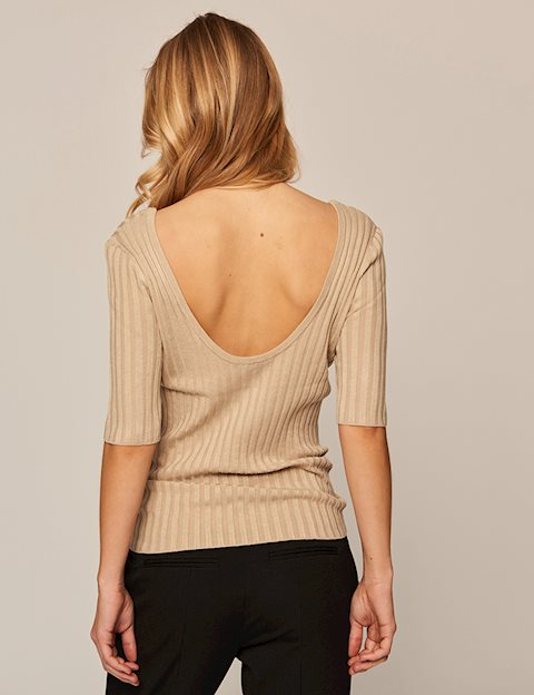 NIXIE MINNO KNIT - COPPER BROWN