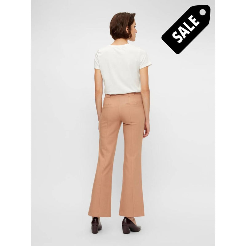 Nuteo Mw Flare Pant - Tawny Brown Pants