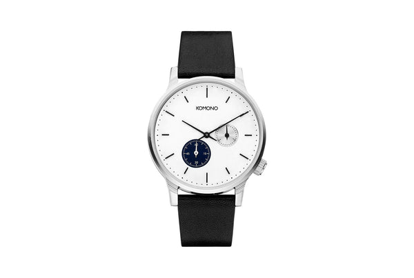 WINSTON DOUBLE SUBS WATCH - BLUE