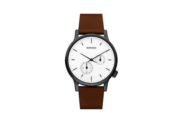 WINSTON DOUBLE SUBS WATCH - WHITE