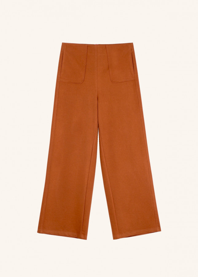 PHEDRA PANTS - BRICK