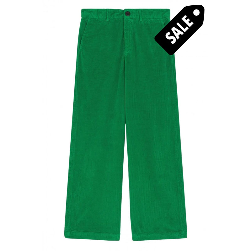Phil Pants Velours - Green Xs-34 Pants