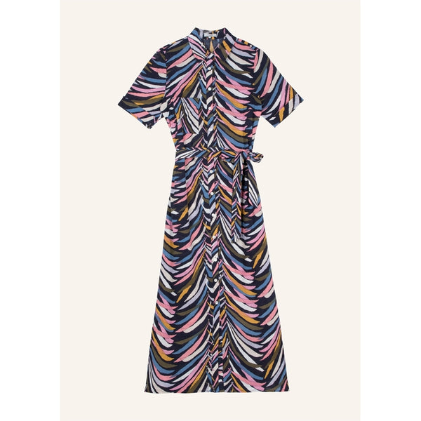 ARACELI  DRESS - ZEBRE PINK
