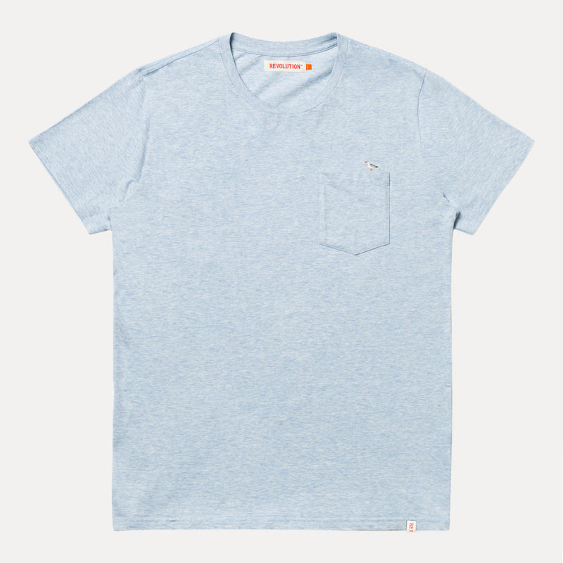 1213 SEA T-SHIRT - LIGHTBLUE